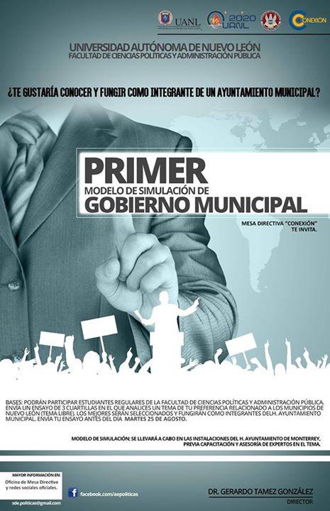 Primer Modelo de Simulación de Gobierno Municipal