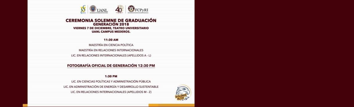 Ceremonia Solemne de Graduación